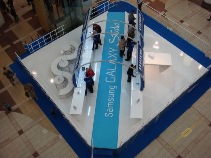 Galeria Mokotów i Samsung Galaxy Studio